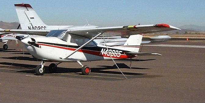 The T41B on the ramp at the Deer Valley Arizona airport.