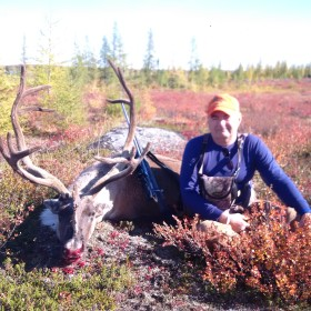 Dick Williams with his 2016 Caribou.