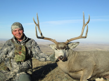 Mike Johnson sent in a picture of his customer, shot with his Lilja Barreled 6.5 Creedmoor