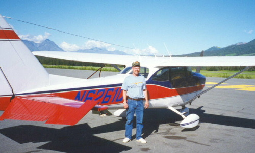 After arriving at Palmer, Alaska in the Cessna 172H