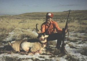 "A nice 14"" buck shot with the 25-06 in the 1980's."