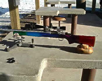 Here is a Heavy Varmint benchrest rifle built on a BAT action.  It is capable of outstanding accuracy. The barrel is a 6 PPC 13 twist 3-groove.