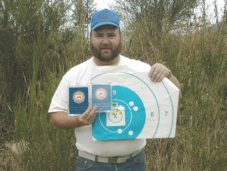 Here's record score Kevins target. You can see his other groups on this same target too. He used one of our 6.5 barrels. Great shooting Kevin.