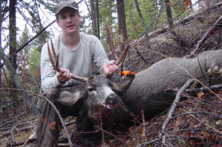 Matt Cockrell's 2004 mule deer buck.